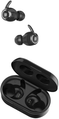 HiFuture OlymBuds Stylish Secure Fit True Wireless Bluetooth Headset Bluetooth Headset with Mic(Black, In the Ear)
