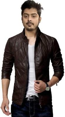 WYD Full Sleeve Solid Men Jacket