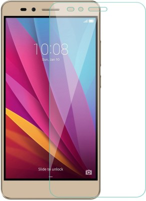 Pirum Edge To Edge Tempered Glass for Honor 5X(Pack of 1)