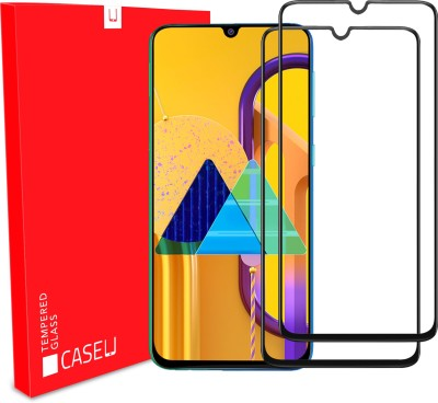 Case U Edge To Edge Tempered Glass for Samsung Galaxy A30, Samsung Galaxy A30s, Samsung Galaxy A50, Samsung Galaxy A50s, Samsung Galaxy M30, Samsung Galaxy M30s, Samsung Galaxy A20(Pack of 1)