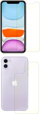 FashionCraft Front and Back Screen Guard for Apple iPhone 11(Pack of 2)