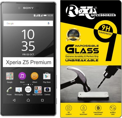 Roxel Impossible Screen Guard for Sony Xperia Z5 Premium Dual(Pack of 1)