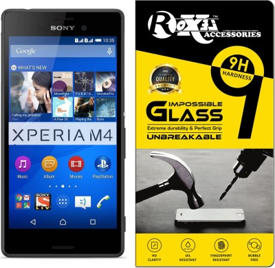 Roxel Impossible Screen Guard for Sony Xperia M4 Aqua Dual(Pack of 1)