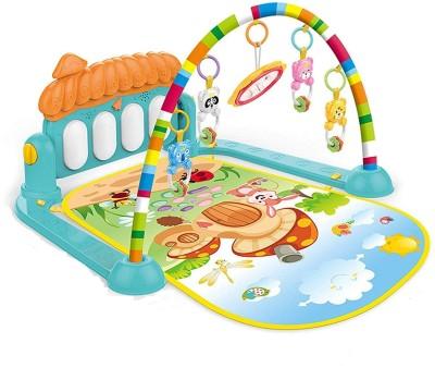 NIYAMAT Kick & Play Multi-Function Piano Baby Gym & Fitness Rack(Multicolor)