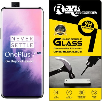 Roxel Impossible Screen Guard for OnePlus 7 Pro(Pack of 1)