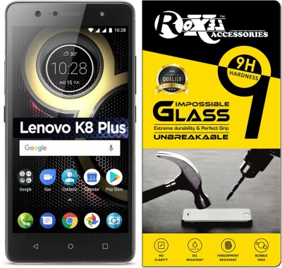 Roxel Impossible Screen Guard for Lenovo K8 Plus(Pack of 1)