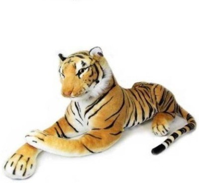 GIFT Tiger Sot Toy ,Stuffed Animal Plush Cat ,Indian Tiger   32 cm Brown GIFT Soft Toys