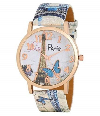 selicon velly PERIS_BLUE Paris Stylish Limited Edition Designer Analog Watch for Women/Girls Blue Analog Watch  - For Girls