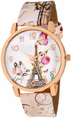 selicon velly PERIS_PINK Paris Stylish Limited Edition Designer Analog Watch for Women/Girls Pink Analog Watch  - For Girls