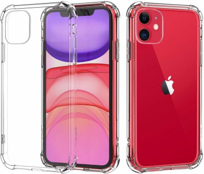 Flipkart SmartBuy Back Cover for Apple iPhone 11(Transparent, Grip Case)
