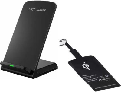 ShopyBucket Fast Wireless Charger with Charging Pad Receiver Charging Pad