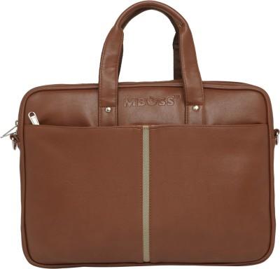 Mboss 14 inch Laptop Messenger Bag(Tan)