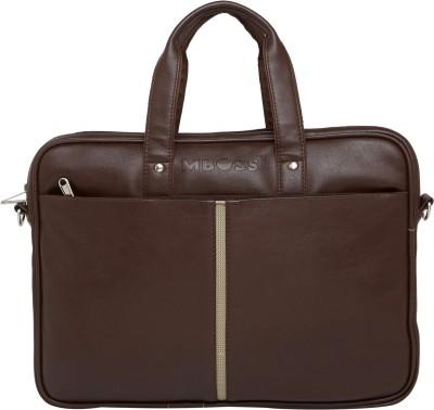 Mboss 14 inch Laptop Messenger Bag(Brown)