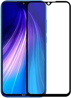 Casotec Edge To Edge Tempered Glass for Mi Redmi Note 8(Pack of 1)