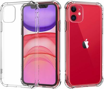 Flipkart SmartBuy Back Cover for Apple iPhone 11(Transparent, Grip Case)