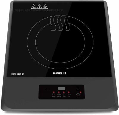HAVELLS QT GREY 1200 WATT Induction Cooktop(Grey, Push Button)