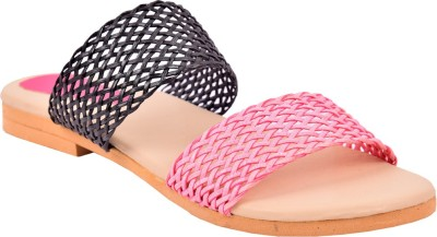MENTER Women Pink Flats