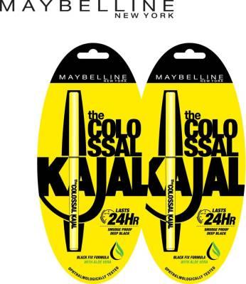 MAYBELLINE NEW YORK Colossal Kajal Promo (Black, 0.7 g)