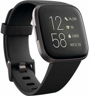 Fitbit Versa 2 (NFC) Smartwatch(Black Strap 6)