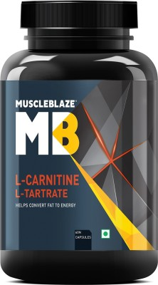 MuscleBlaze L Carnitine L Tartrate Fat Burner 60 No MuscleBlaze Vitamin Supplement