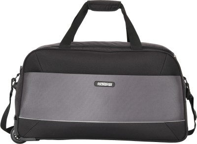 American Tourister POLER WHEEL DUFFLE 55CM BLACK Duffel Strolley Bag