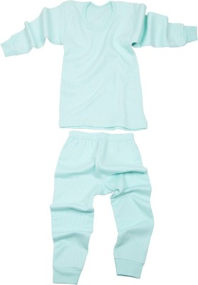 Pank-Smith Top - Pyjama Set For Boys & Girls(Blue, Pack of 2)