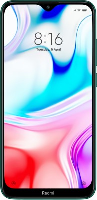 Redmi 8 (Emerald Green, 64 GB)(4 GB RAM)