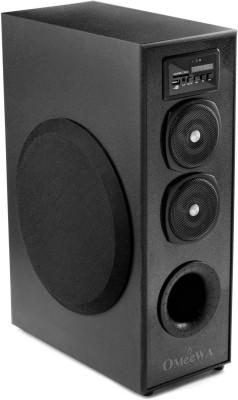 omeewa MT-525X 25 W Bluetooth Tower Speaker(Black, 2.1 Channel)