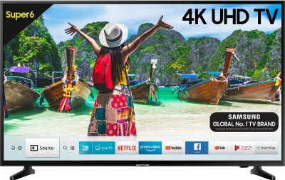 Samsung Super 6 108cm (43 inch) Ultra HD (4K) LED Smart TV(UA43NU6100KXXL / UA43NU6100KLXL)