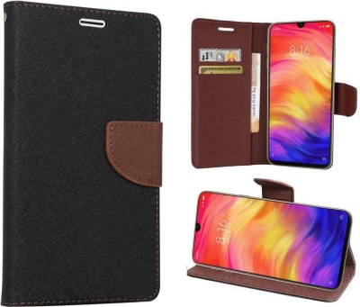 JAPNESE PRO Flip Cover for Honor 7C(Brown, Shock Proof)