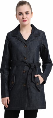 Trufit Cotton-Polyester Twill Self Design Coat