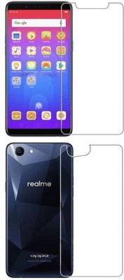 FashionCraft Front and Back Screen Guard for OPPO Realme 1(Pack of 2)