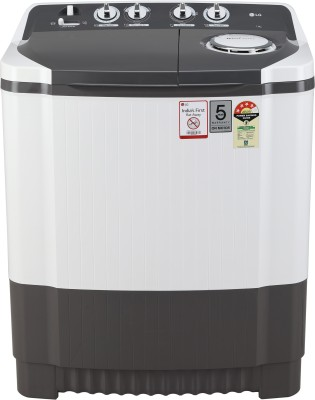 LG 7 kg 4 Star Semi Automatic Top Load Grey, White(P7020NGAY)