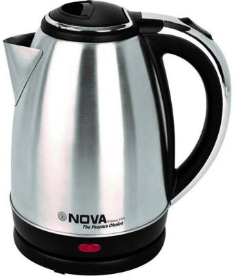 Nova NKT-2733 Electric Kettle(1.7 L, Black)