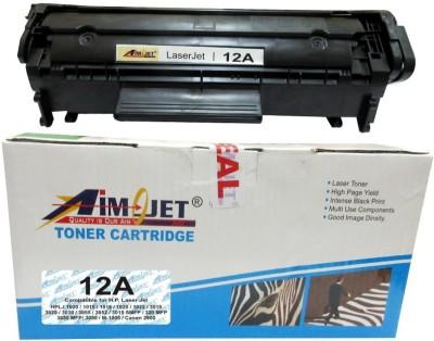 Aimjet Q2612A Black Ink Toner Aimjet Toners