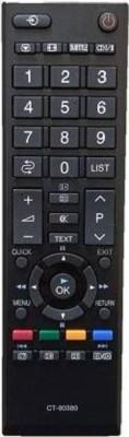 SHREE ASHTAVINAYAK ENTERPRISES LCD/LED TV Remote Control for Toshiba LCD/LED TV (Black) Remote Controller(Black)