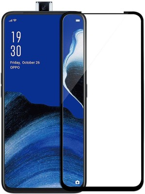 Casotec Edge To Edge Tempered Glass for OPPO Reno 2z(Pack of 1)