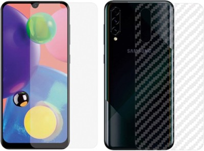 Treecase Front and Back Screen Guard for Samsung Galaxy A70s(Pack of 2)