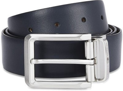 Tommy Hilfiger Men Formal Brown, Blue Genuine Leather Reversible Belt