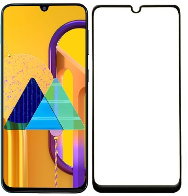 Carrywrap Edge To Edge Tempered Glass for Samsung Galaxy M30S, Samsung Galaxy M21(Pack of 1)