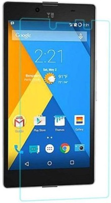YMYTE Tempered Glass Guard for Micromax YU YUPHORIA AQ5010(Pack of 1)