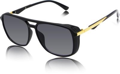 fashion sunglasses Over-sized Sunglasses(Grey)