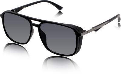 fashion sunglasses Over-sized Sunglasses(Black)