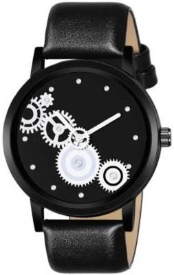 EElix New Fancy Classic Full Black Analoge Watch For Men & Boys 06-For Men EE-061 black Analog Watch  - For Men