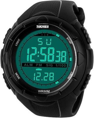 Skmei SK1025GLBLK Sports Digital Watch  - For Women