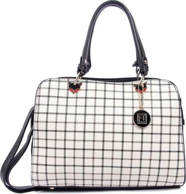 Fiona Trends Women White Hand held Bag Fiona Trends Handbags