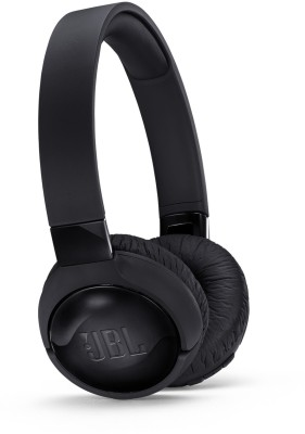 JBL T600BTNC Bluetooth Headset with Mic(Black, On the Ear)