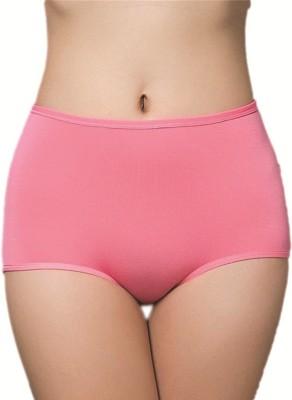 PLUMBURY Women Hipster Pink Panty(Pack of 1)