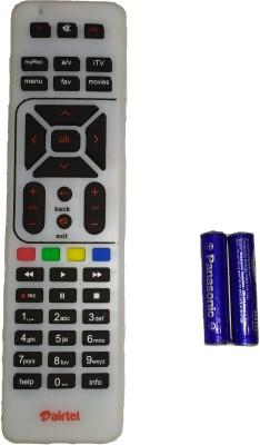 Airtel TV DTH Remote Remote Controller(White)
