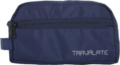 Travalate Polyester Multipurpose Travel Shaving Kit & Bag(Blue)